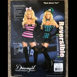 Dreamgirl Reversible Alice in Wonderland Costume